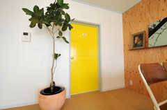 専有部のドアの様子。カラフルです。(4023号室)(nismu)(2010-10-18,専有部,ROOM,4F)