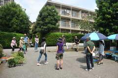 ガーデニングイベントの様子3。(2013-06-30,共用部,PARTY,1F)