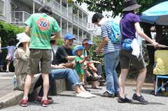 ガーデニングイベントの様子20。団地内の懇親会。(2013-06-30,共用部,PARTY,1F)