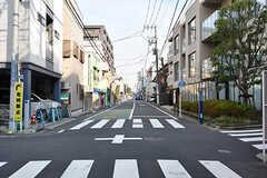 周辺は閑静な住宅街です。(2017-03-01,共用部,ENVIRONMENT,1F)