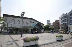 JR山手線・目白駅の様子。(2013-08-09,共用部,ENVIRONMENT,1F)
