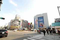 各線・高田馬場駅前の様子。(2013-03-15,共用部,ENVIRONMENT,1F)