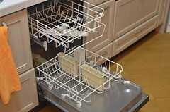 食器洗浄機付きです。(2013-08-06,共用部,KITCHEN,1F)