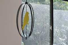 小鳥がゆらゆら。モデルルームです。(202号室)(2014-07-31,専有部,ROOM,2F)