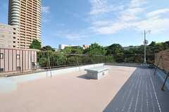 屋上の様子。(2014-07-31,共用部,OTHER,5F)