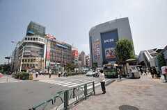 各線・高田馬場駅前の様子。(2014-07-31,共用部,ENVIRONMENT,1F)