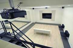 ロフトから見たシアタールームの様子。(2013-02-12,共用部,OTHER,)