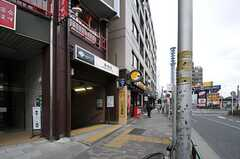 都営新宿線・曙橋駅の様子。(2013-02-12,共用部,ENVIRONMENT,1F)