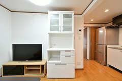 食器棚の様子。(2017-03-18,共用部,LIVINGROOM,1F)
