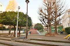 近所の加賀町公園の様子。(2017-03-18,共用部,ENVIRONMENT,1F)