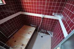 バスルームの様子。蓋は檜です。(2012-03-13,共用部,BATH,1F)