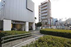 都営大江戸線・若松河田駅の様子。(2013-03-13,共用部,ENVIRONMENT,1F)