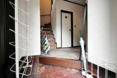 正面玄関から見た内部の様子。(2010-09-15,周辺環境,ENTRANCE,1F)