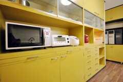 キッチン家電の様子。(2010-09-15,共用部,OTHER,1F)