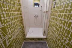 シャワールームの様子。(2018-05-09,共用部,BATH,2F)
