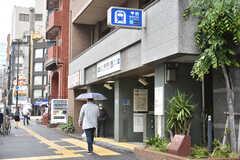 各線・東新宿駅の様子。(2018-05-09,共用部,ENVIRONMENT,1F)
