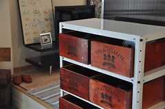 部屋ごとに用意されたボックスは、シューズ入れとしても、ツール入れとしても使えます。(2014-04-16,共用部,OTHER,1F)