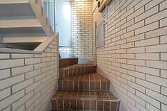 階段の様子。(2016-02-29,共用部,OTHER,1F)