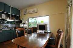 ダイニングテーブルの様子。(2011-06-24,共用部,LIVINGROOM,1F)