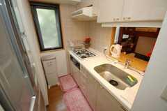 シェアハウスのキッチンの様子。(2008-07-14,共用部,KITCHEN,4F)