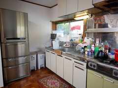 シェアハウスのキッチンの様子2。(2008-03-03,共用部,KITCHEN,1F)
