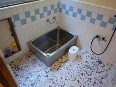 お風呂場の様子。(2008-03-03,共用部,BATH,1F)