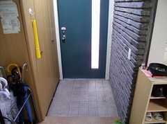 玄関の様子。(2005-06-03,周辺環境,ENTRANCE,)