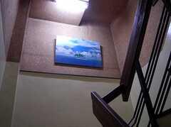 階段の様子。(2005-06-03,共用部,OTHER,)