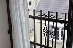 窓の様子。(304号室)(2014-03-26,専有部,ROOM,3F)
