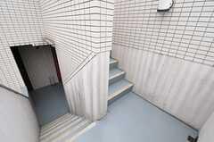 屋上へ続く階段の様子。(2014-03-26,共用部,OTHER,4F)