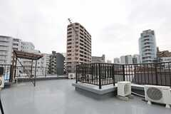 屋上の様子2。(2014-03-26,共用部,OTHER,4F)