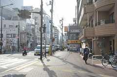 東京メトロ東西線・落合駅前の様子。(2014-03-26,共用部,ENVIRONMENT,1F)