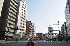 東京メトロ東西線・落合駅前の様子2。(2014-03-26,共用部,ENVIRONMENT,1F)