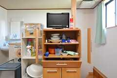 共用の収納棚。(2015-07-14,共用部,LIVINGROOM,2F)