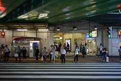 JR各線・大久保駅の様子。(2015-07-14,共用部,ENVIRONMENT,1F)