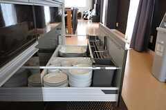 キッチン下収納の様子。(2012-09-28,共用部,KITCHEN,3F)