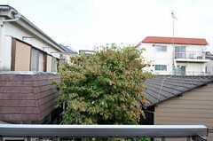 窓からの景色。(303号室)(2012-09-28,専有部,ROOM,3F)