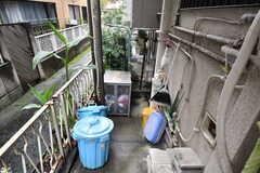 ゴミステーション周辺の様子。(2020-09-26,共用部,GARAGE,1F)