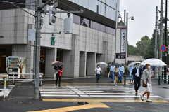 JR総武線・信濃町駅の様子。(2020-09-26,共用部,ENVIRONMENT,1F)