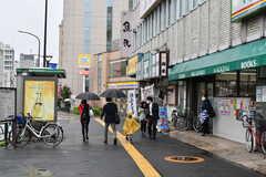 JR総武線・信濃町駅前の様子。(2020-09-26,共用部,ENVIRONMENT,1F)