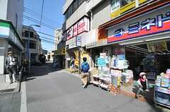都営大江戸線・牛込柳町駅の様子。(2014-04-05,共用部,ENVIRONMENT,1F)