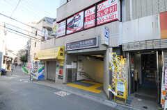 都営大江戸線・牛込柳町駅の様子。(2014-01-10,共用部,ENVIRONMENT,1F)