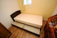 収納の様子。(103号室)(2008-07-22,専有部,ROOM,1F)