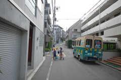 各線・高田馬場駅からシェアハウスへ向かう道の様子。(2008-07-22,共用部,ENVIRONMENT,1F)