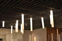 天井の照明はラインをイメージしています。(2016-07-29,共用部,LIVINGROOM,)