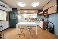 シェアハウスのキッチンの様子2。(2009-06-29,共用部,LIVINGROOM,1F)