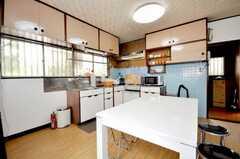 シェアハウスのキッチンの様子3。(2009-06-29,共用部,KITCHEN,1F)