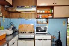 シェアハウスのキッチンの様子4。(2009-06-29,共用部,KITCHEN,1F)