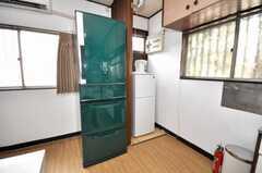 冷蔵庫の様子。(2009-06-29,共用部,OTHER,1F)