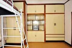 ドミトリーの様子2。2012年5月現在、専有部に変更されています。(202号室)(2009-06-29,専有部,ROOM,1F)